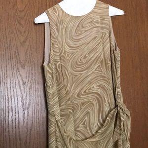 Unique full length dress